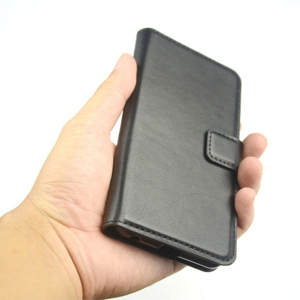 Pierves Card Slot Wallet Leather Case Luxury Filp Stand Cover For ZTE Blade A530 V9 Vita A7 Vita