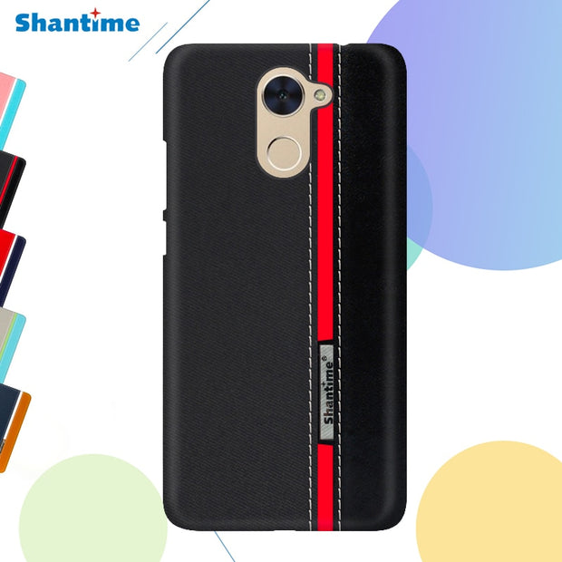 Pu Leather Case For Huawei Y7 Prime Fashion Colorful Phone Case For Huawei GR5 2017 Business Case For Huawei Honor 7 Cover