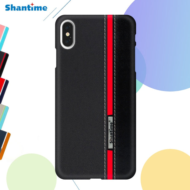 Pu Leather Case For IPhone XS MAX Phone Case For IPhone XS Business Case For IPhone XS Fashion Colorful Case For IPhone X Cover
