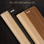 Pu Leather Phone Case For TP-Link Neffos C9 Flip Book Case For TP-Link Neffos C9 Business Case Soft Tpu Silicone Back Cover
