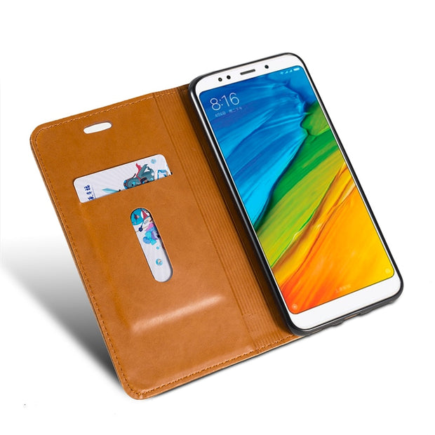 Pu Leather Wallet Phone Bag Case For Meizu M6 Flip Book Case For Meizu M6 Business Case Soft Tpu Silicone Back Cover