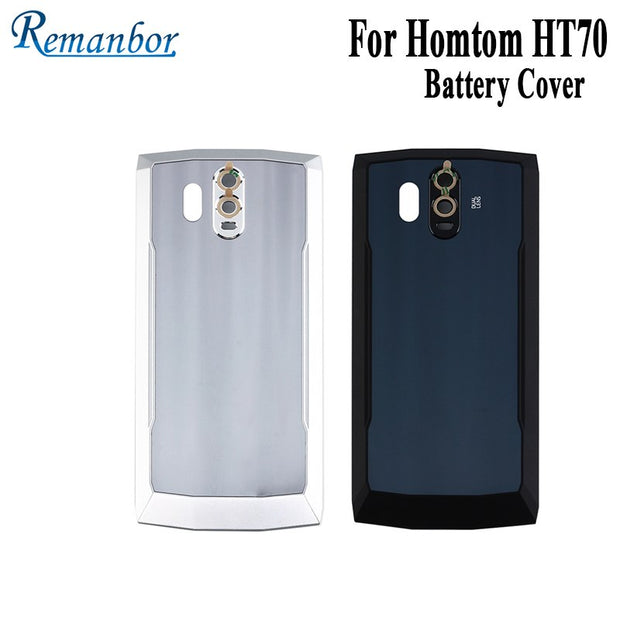 Remanbor For Homtom HT70 Battery Cover Protective Battery Back Cover Case Fit Replacement For Homtom HT70 Mobile Phone Accessory