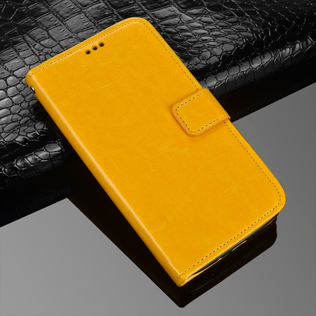 Retro Flip Back Skin For BQ BQS-5504 BQS 5504 Case Leather Stand Pouch Capa For Coque BQ BQ-5504 Strike Selfie Max Cover Fundas