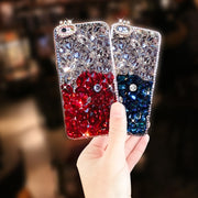 Rhinestone Case Diamond Bling Phone Cover For OPPO A3S/A7X/F7/F9/F5/A73