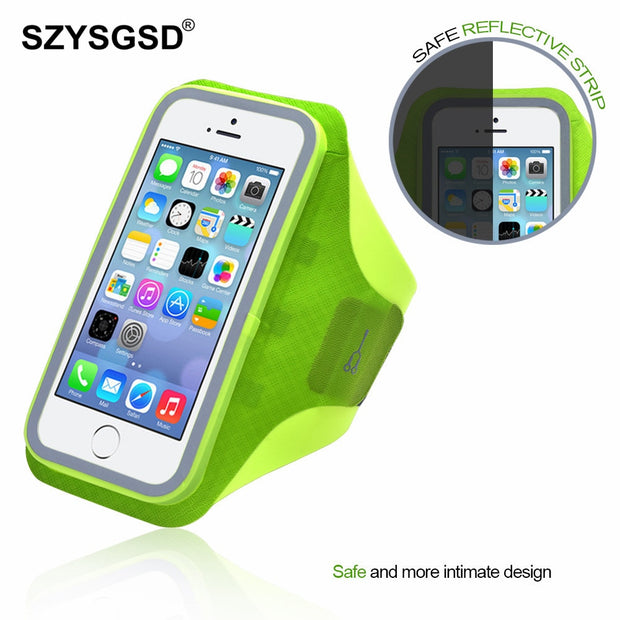 SZYSGSD Outdoor Sport Gym Running Bags Arm Bag Holder Pouch Running Arm Band Waterproof Mobile Phone Case Gym Arm Bag 5.8 Inch