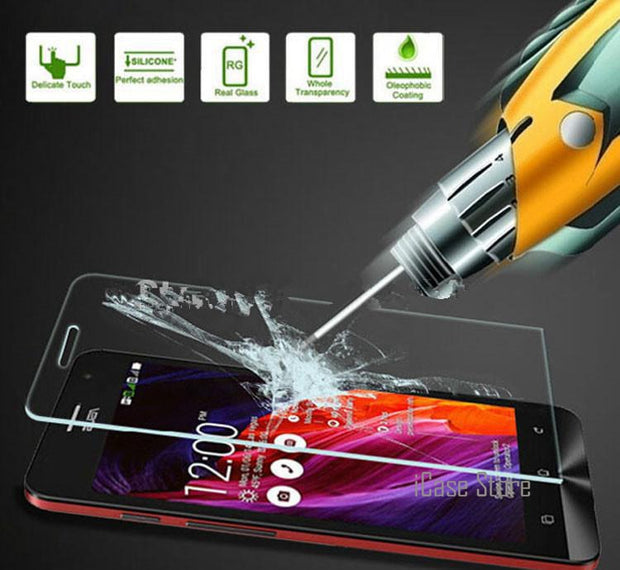 Screen Protector Tempered Glass For Asus 6 Zenfone 6 Case A600CG A601CG T00G A600 A601 CG For Asus 6 Telefon Kilifi Case Cover