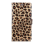 Sexy Leopard Pattern PU Leather Flip Cover Magnetic Snap Wallet Card Money Slots Stand Case Fundas For LG Q Stylus Fundas