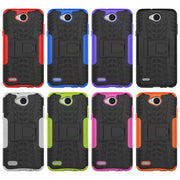 Shockproof Armor Case For LG X Power 2 Case Silicon Stand Cover Protective Phone Case For LG X Power 2 / K10 Power / LV7