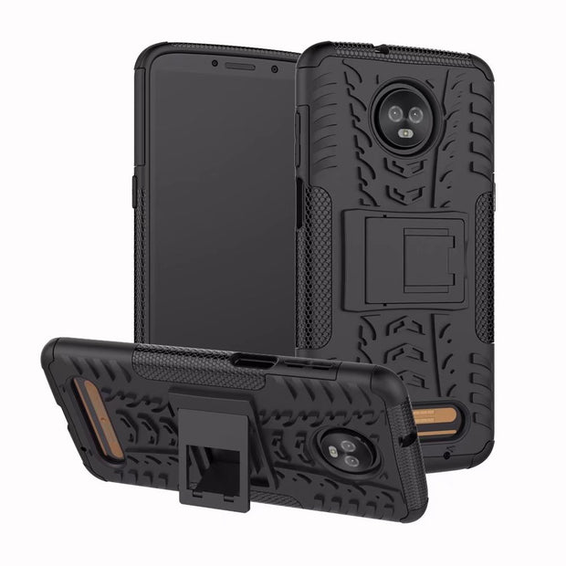Shockproof Phone Case Cover For Motorola Z3Play Hybrid PC TPU Armor Cellphone Case For Motorola Z3Play