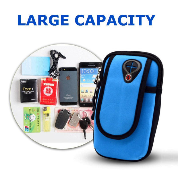 Smart Phone Cases Bag For Samsung Galaxy S9 Plus Arm Pouch Waterproof Sports Cover For Samsung A8 2018/A5 2017/Note 9 8/S8 EEMIA