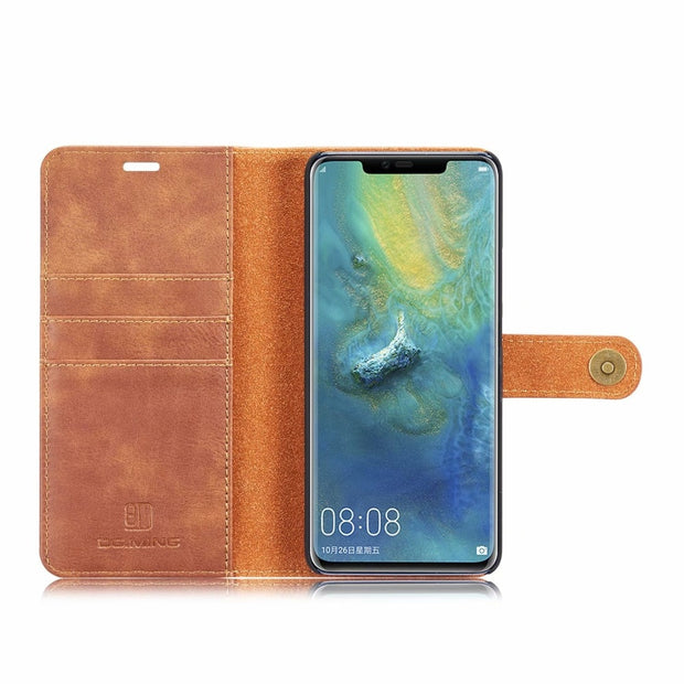 Split 2 In 1 Leather Wallet Flip Case For Huawei Mate 20 Pro Lite P20 Case Card Slot Magnet Retro Cover For Huawei Mate20 20Pro