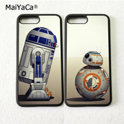 Star Wars Bb8 Droid BFF Best Friends Love Pair Phone Cases For IPhone 5s Se 6 6s Plus 7 7plus 8 8plus X XR XS MAX Silicone Cover