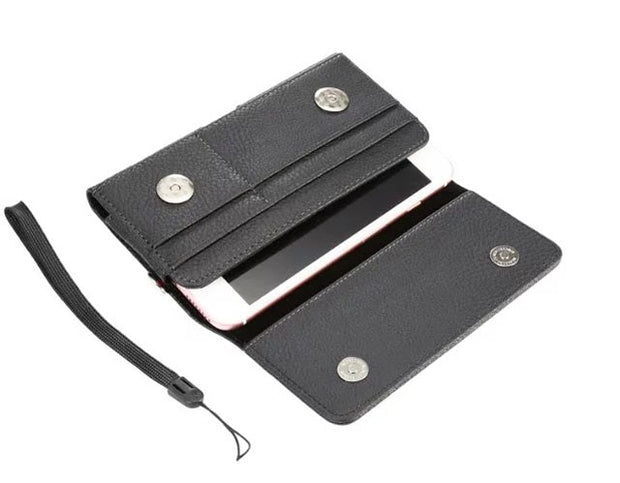 Strap Hand Belt Clip Mobile Phone Case Bags Pouch For Huawei Honor Magic 2,Y9 (2019),ZTE Nubia X,Oppo Find X A3s A37 A7 F7 A83