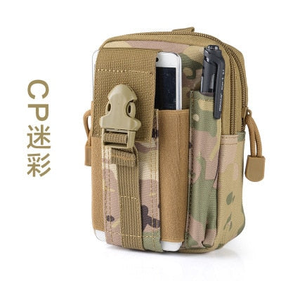 "Tactical Waist Bag Mobile Phone Pouch Pack Sport Mini Vice Pocket For Alcatel PIXI3 3.5"" PIXI First 4"" 4.5"" 5.5"" POP Astro"
