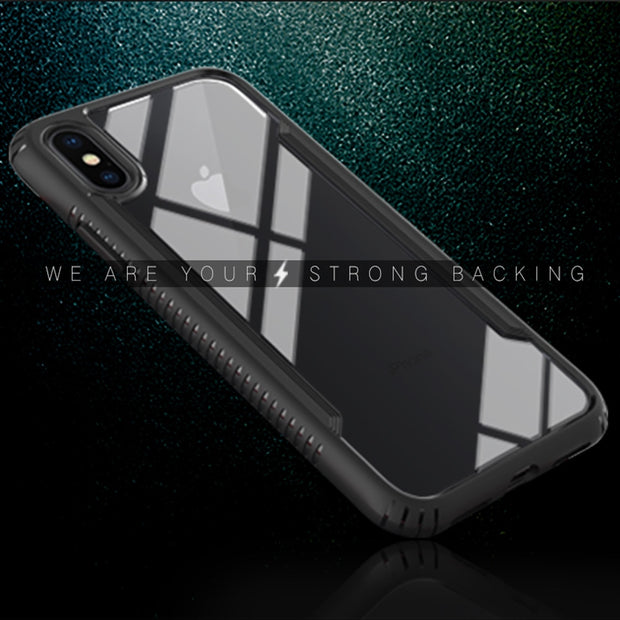 Tempered Glass Phone Case For IPhone X Back Cover Case For IPhone X Glass
