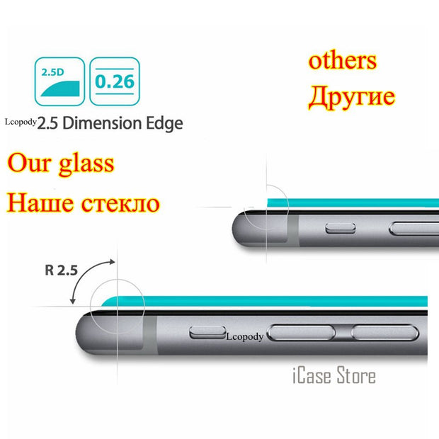 Tempered Glass Na For Huawei Y3 II Y3 2 Y3ii Y 3II Y32 LUA-L03 LUA-L02 LUA-L21 LUA-U22 Screen Protector SKLO Film En Verre Case