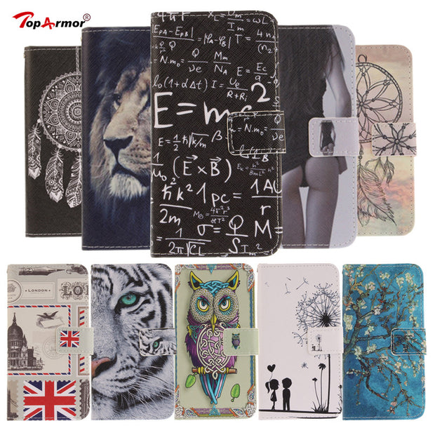 TopArmor Case Colorful Magnetic Cover For LG V30 V 30 H930 Flip PU Leather Cover For LG V30 Stand Card Slots Phone Case Coque
