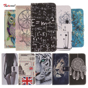 TopArmor Case Colourful PU Leather Flip Painted Cover For LG G 6 G6 Case Card Slots Wallet Shell For LG G6 Phone Case Bags Coque