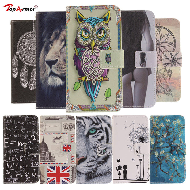 TopArmor Case For Sony Xperia XA1 Plus Case Magnetic Flip PU Leather Cover For Sony Xperia XA1 Plus Stand Card Slots Case Coque