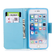TopArmor Case New PU Leather Wallet Case For IPhone 6 Plus Magnetic Flip Card Holder Stand Cover For IPhone 6S Plus Case Coque