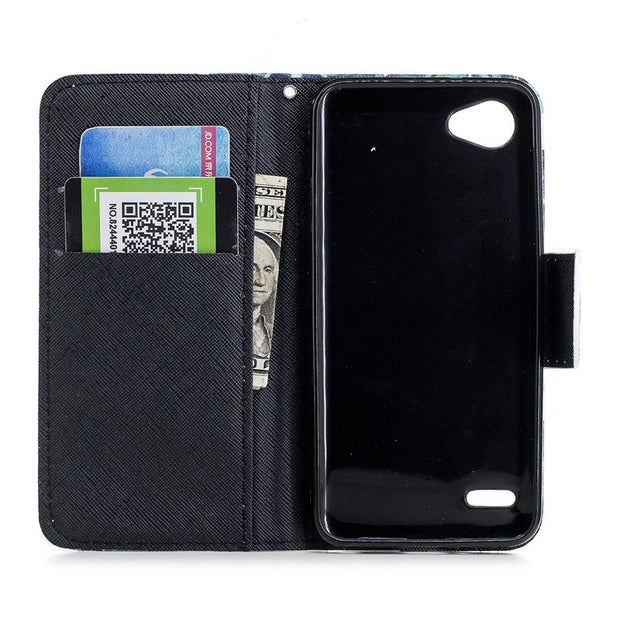 TopArmor PU Leather Wallet Shell For LG Q6/G6 Mini 5.5 Inch Luxury Magnetic Flip Stand Cover For LG Q6 Plus Phone Case Skin Bags