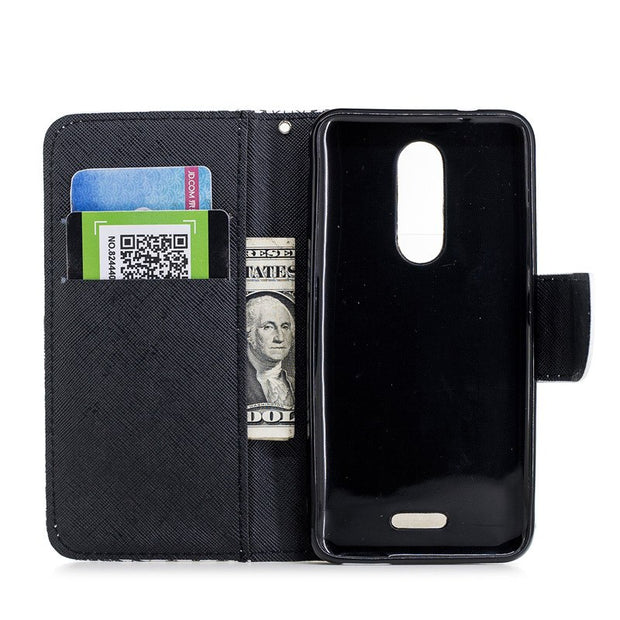 TopArmor PU Leather Wallet Shell For Wiko Upulse Lite 2017 Magnetic Flip Stand Cover For Wiko Upulse Lite Phone Case Skin Bags