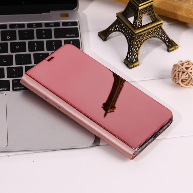 Unisex Multi Function Mirror Cover Up Print Phone Case Mirror, Phone Protective Cover