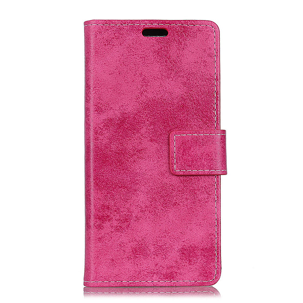 Vintage PU Leather For Google Pixel 3 Lite XL Matte Retro Flip Cover Magnetic Stand Card Money Slot Case For Google Pixel3 Lite