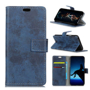 Vintage Retro Matte PU Leather Flip Cover Magnetic Snap Wallet Stand Card Money Slot Case For Mi Xiaomi Redmi Note 7