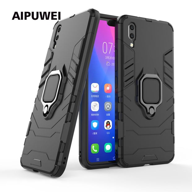 Vivo V9 Case For Vivo Y83 Y66 Y67 V9 X9 X20 X20i X9 PLUS X20plus Protection Case For Vivo X9 Plus Case Cover With Finger Ring