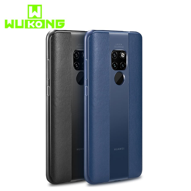 WK Leather Case For Huawei Mate 20 Pro Cover High-grade Cover Mate 10 Pro Porsche Full Edge Silicone For IPhone Xs Max TPU Case