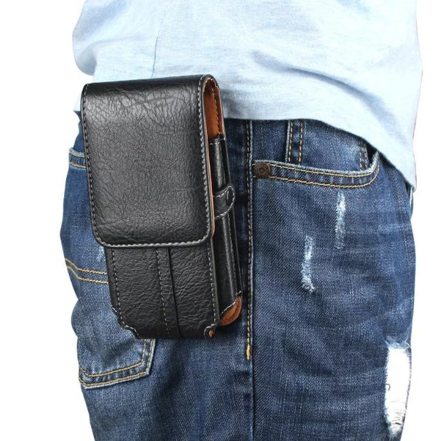Waist Clip Holster Phone Bag Case For Motorola Moto E5 E4 Plus G2 G3 G4 G5 G5S G6 Plus Z2 Play Z Play For Moto C C Plus Bag