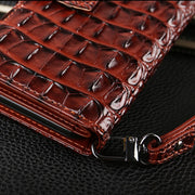 Wallet Case For MOTO G6 5.7'' High Quality Flip Crocodile PU Leather Phone Back Cover For Motorola Moto G6 Plus 5.9'' Case