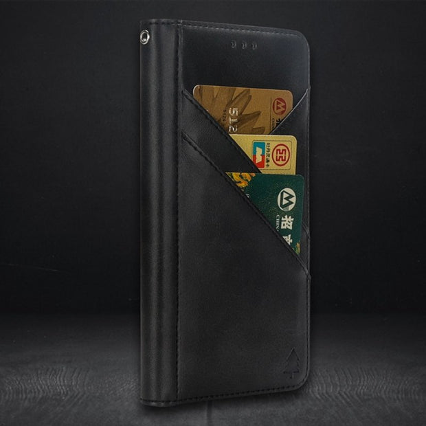 Wallet Flip Phone Case For IPhone 7 Plus 8 Plus Iphone 8 XR Phone Bag Case For Iphone XS Max Iphone 6 6s Plus Card Holder Case
