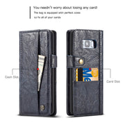 Wallet Leather Case For Samsung Galaxy S8 Plus S7 Case Card Holder Multi-function Flip Cover For Samsung Galaxy S7 Edge S8 Case