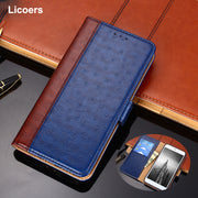 Wallet Phone Case For Huawei P20 P20 Lite Case Cover Smartphone Cover Flip Double Splice Leather For Huawei P 20 P20lite Bumper