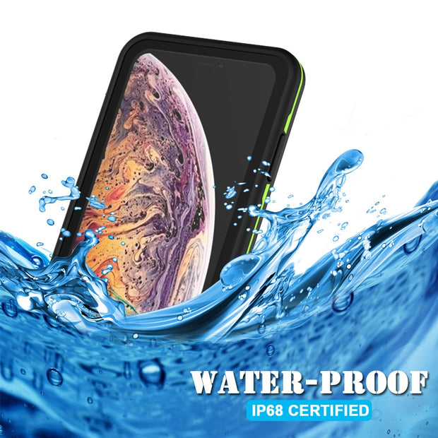 Waterproof Phone Case Cover Screen Protector For IPhone X XR XS Max