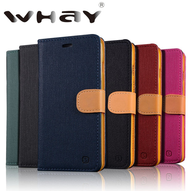 Whay For Coque HTC Desire 626 Case Phone Bag Case For HTC 626 Cover Fundas Canvas Wallet Case For HTC Desire 626