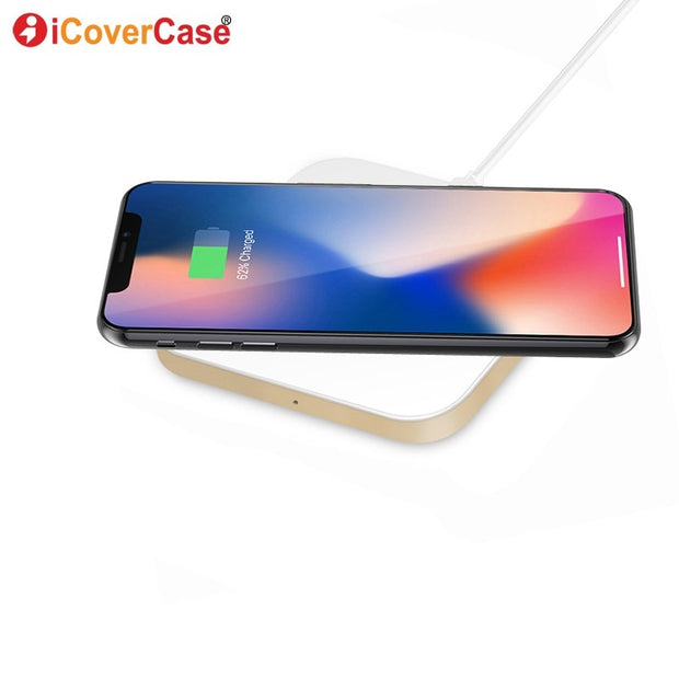 Wireless Charger For Samsung Galaxy A7 (2018) Charging Pad Dock Case Wireless Receiver Chargeur For Samsung A7 2018 Qi Chargers