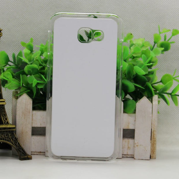 Wtsfwf DIY 2D Sublimation Hard PC Blank Case For Samsung A7 2017 With Aluminum Inserts 10pcs/lot