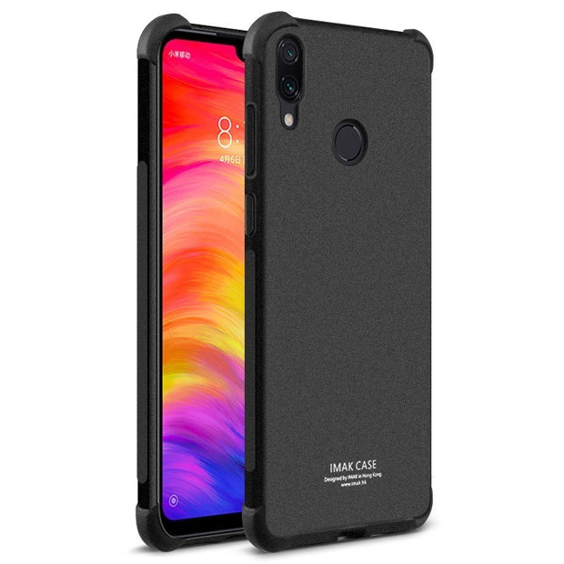 Xiaomi Redmi Note 7 Case Redmi Note 7 Pro Case Silicone IMAK Shock-Resistant Soft TPU Back Cover Phone Cases