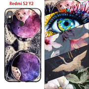 Xiaomi Redmi S2 Case 3D Retro Camera Cassette Tapes Calculator Keyboard Brand Soft TPU Black Cover Shell Fundas Xiaomi Redmi Y2