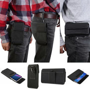 Yelun For Iphone Xs Max XR X 6s 7 Plus Carrying Case Belt Clip Holster Durable Oxford Cloth Camping Hiking Outdoor Holster Bag