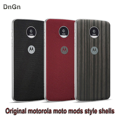 Z3 Play Case Original Motorola Moto Mods Style Shell Magnetic Adsorption Back Cover Protector Case For Moto Z2 Force Edition