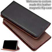 ZD03 Business Style Genuine Leather Flip Case For Motorola Moto G6 Plus(5.93') Case For Motorola Moto G6 Plus Phone Bag