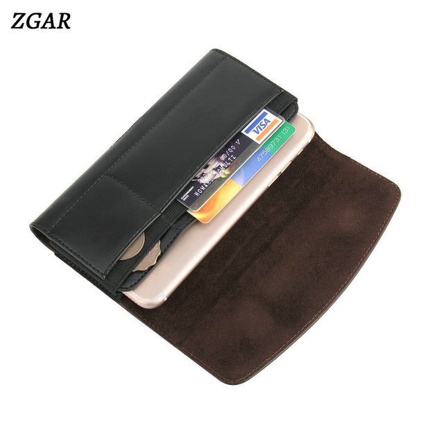 ZGAR Cases For Meizu M6 Note PU Leather Holsters Clips Bag Covers With Card Holders Phone Bags Case For Meizu Meilan 6 Note 6