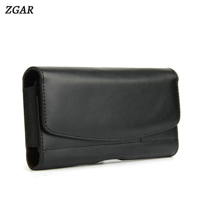ZGAR Cases For Meizu Meilan S6 MS6 Luxury Holsters Clips Waist Bags PU Leather Covers With Card Holder Phone Bags Cases Coque
