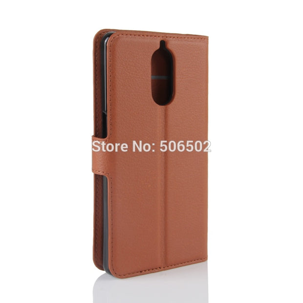 ZZCAJA For Doogee Shoot 1 Case Luxury Wallet Style With Card Slot Flip Stand PU Leather Cell Phone Cover For Doogee Shoot 1