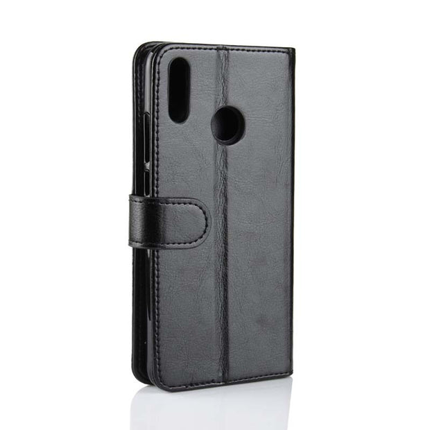 ZZCAJA Shell For Huawei Honor 8X Case Luxury Business Type PU Leather Bag Wallet Mobile Phone Flip Covers For Honor 8X Fundas
