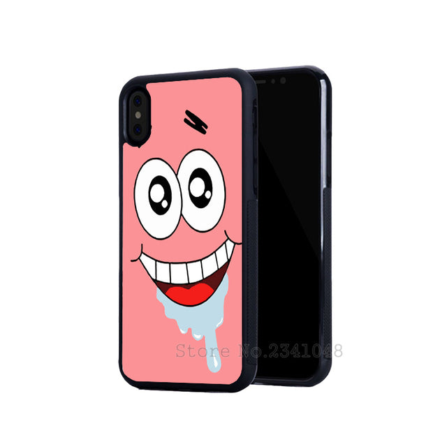 Cartoon Patrick BFF Best Friends Love Pair Mobile Phone Cases For IPhone 5s Se 6 6s Plus 7 7plus 8 8plus X XR XS MAX Cover Case
